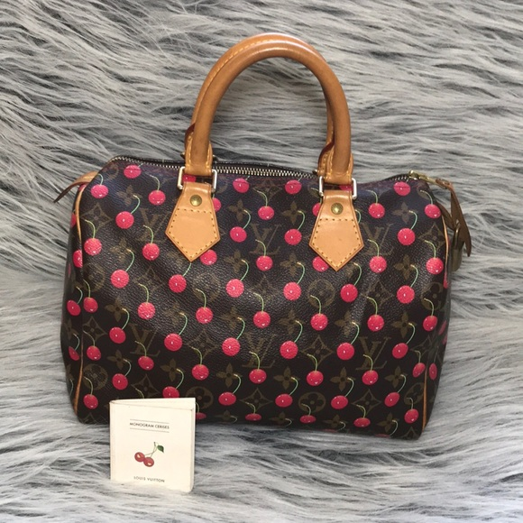 f84fccdcce55 Louis Vuitton Handbags - Louis Vuitton Speedy 25 Monogram Cerises